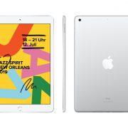 iPad silber